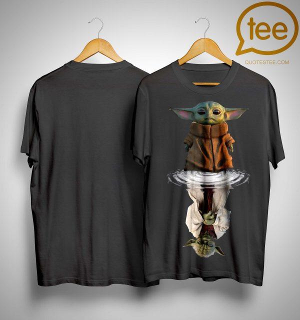 Baby Yoda Water Reflection Shirt