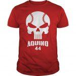Baseball Skull Aquino 44 Shirt