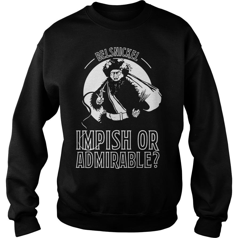 Belsnickel Impish Or Admirable Sweater