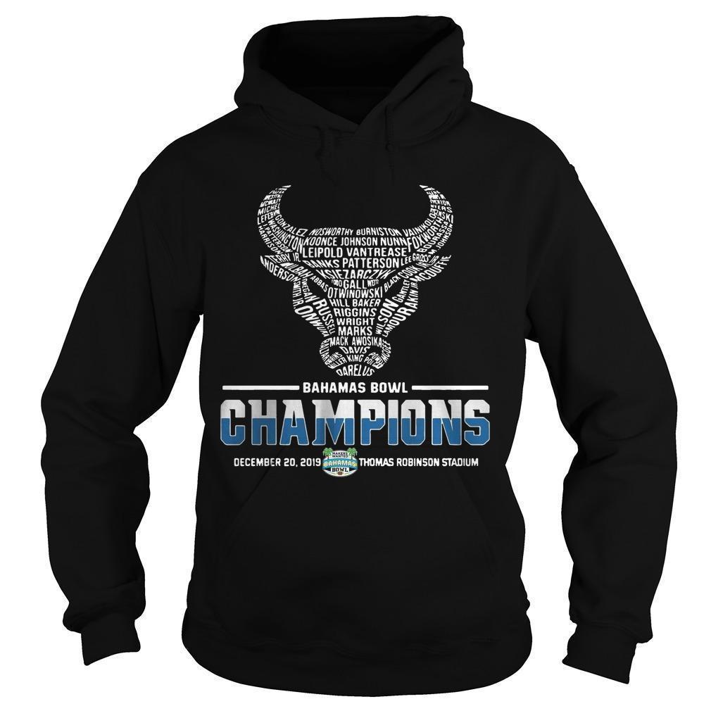 Buffalo Bahamas Bowl Champions Hoodie