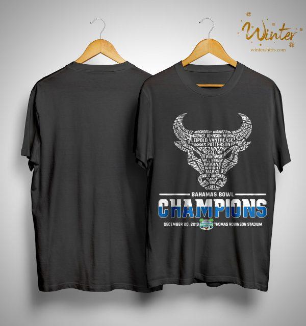 Buffalo Bahamas Bowl Champions Shirt