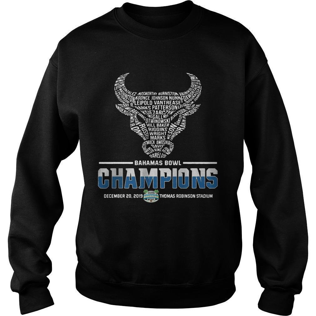 Buffalo Bahamas Bowl Champions Sweater