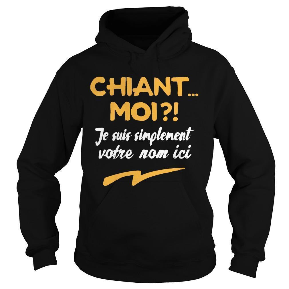 Chiant Moi Je Suis Simplement Mathieu Hoodie