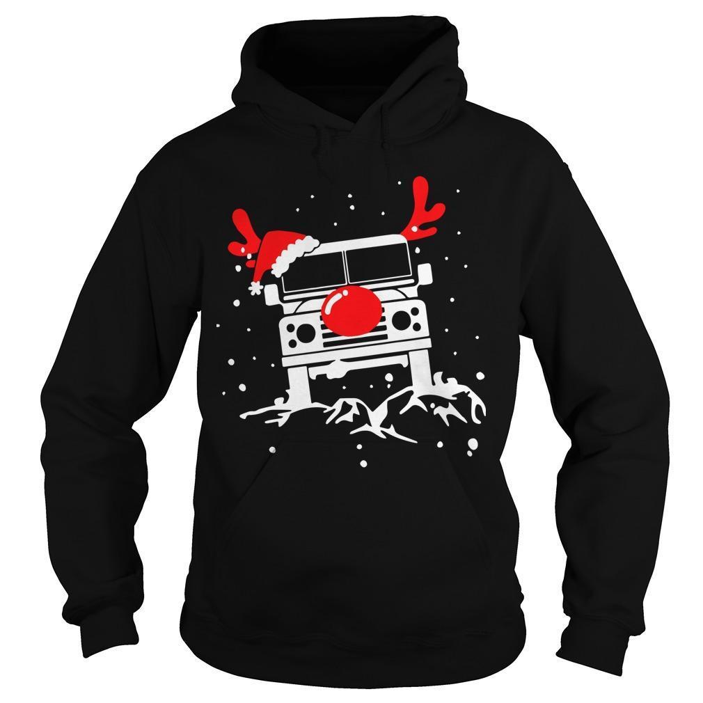 Christmas Deer Defender Car Hoodie