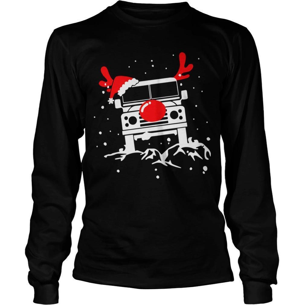Christmas Deer Defender Car Longsleeve
