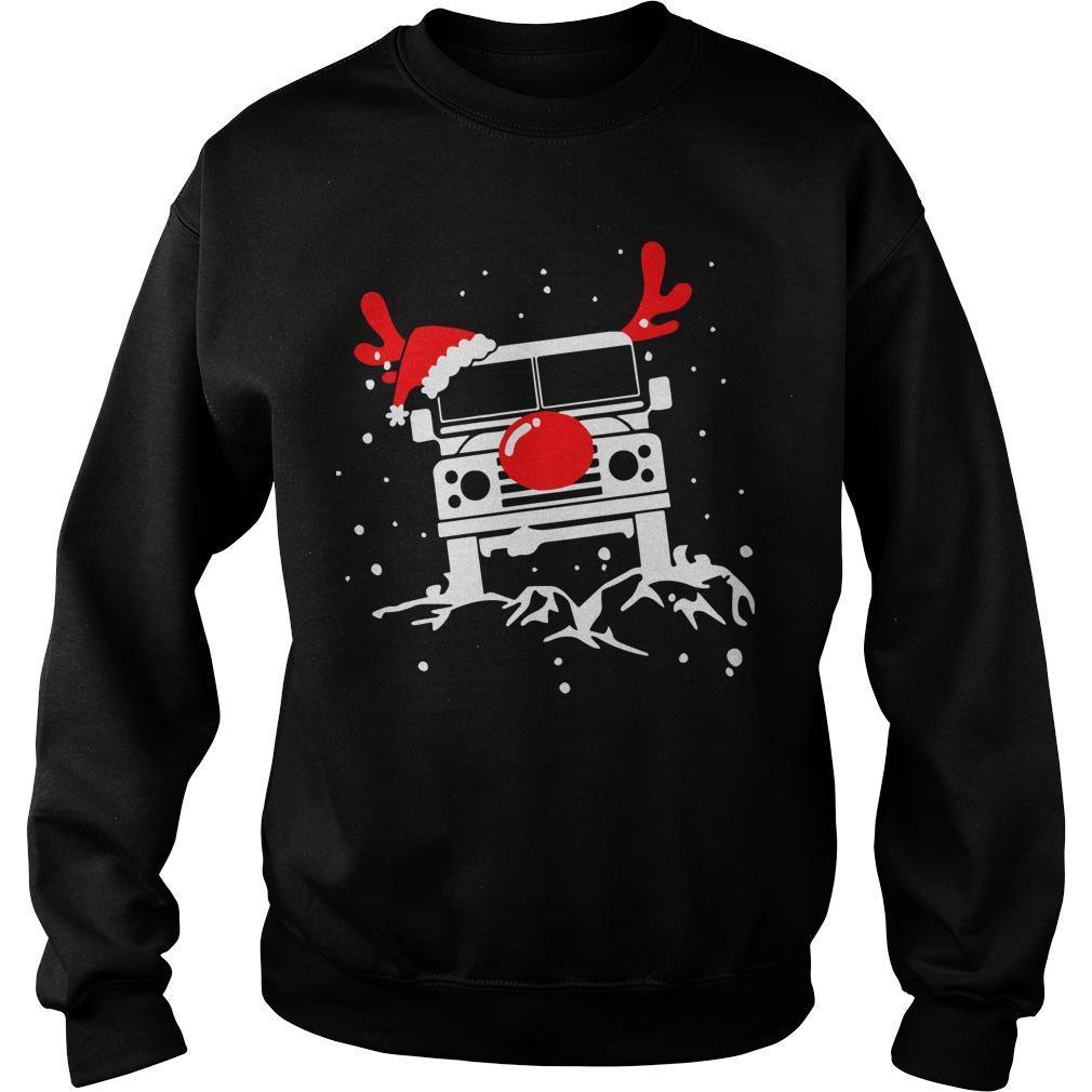 Christmas Deer Defender Car Sweater