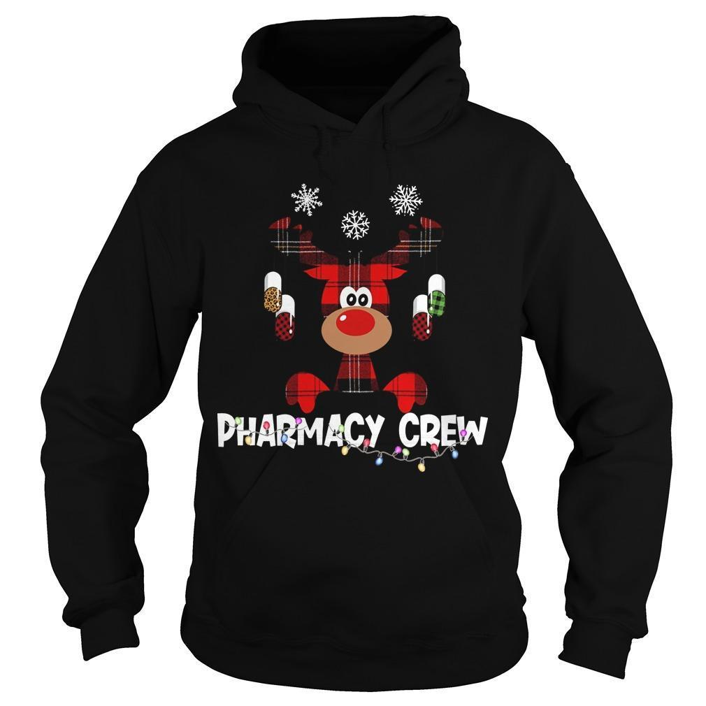 Christmas Reindeer Pharmacy Crew Hoodie
