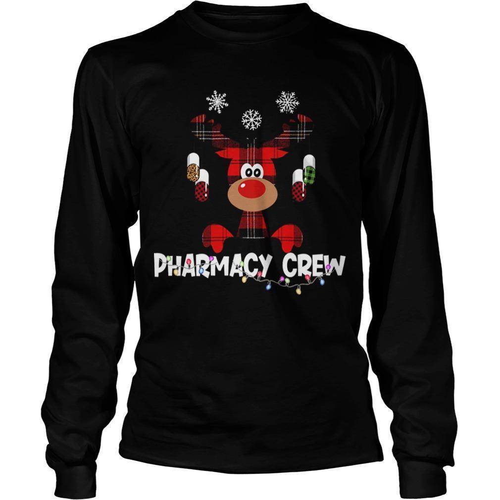 Christmas Reindeer Pharmacy Crew Longsleeve