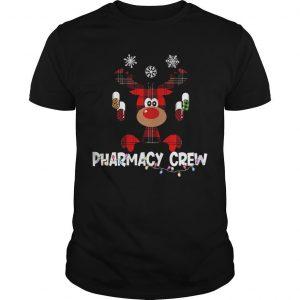 Christmas Reindeer Pharmacy Crew Shirt