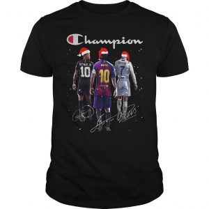 Christmas f Signatures Champion Shirt