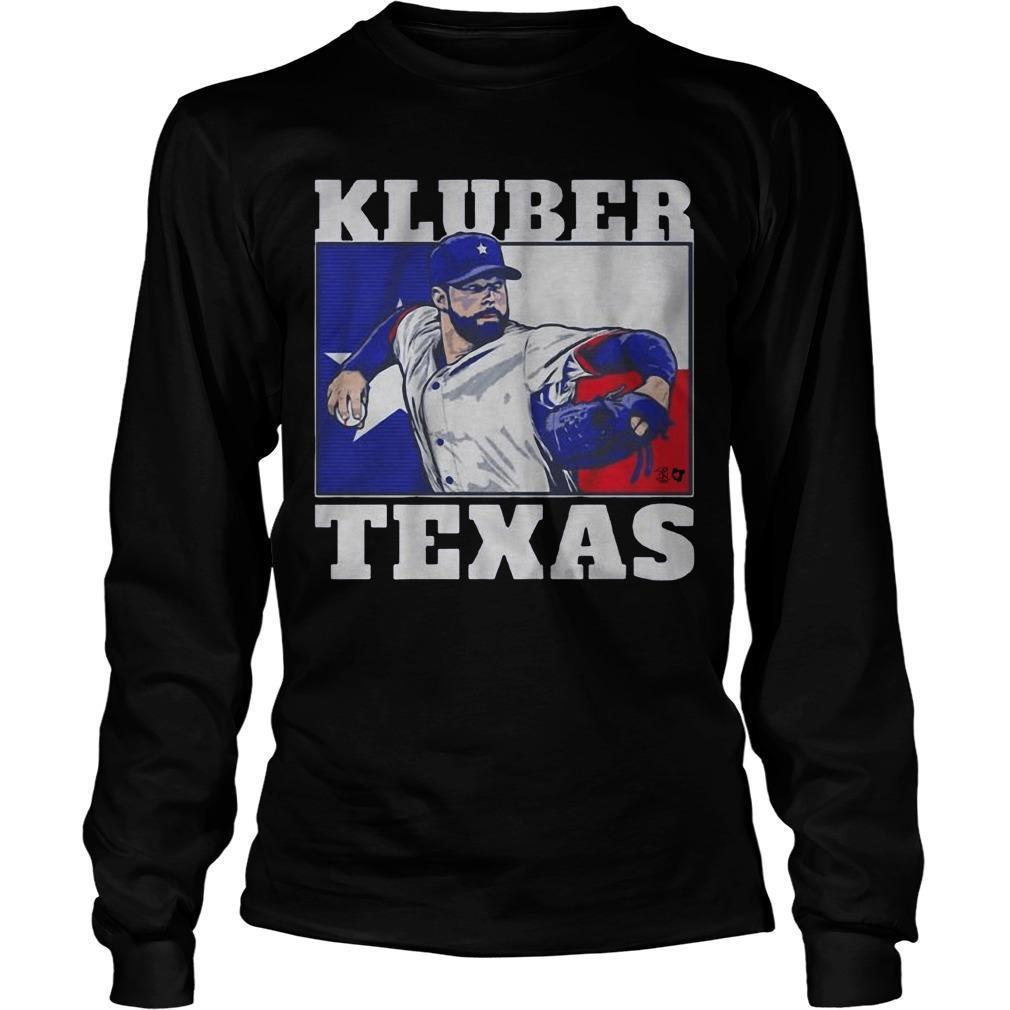 Corey Kluber Texas Longsleeve