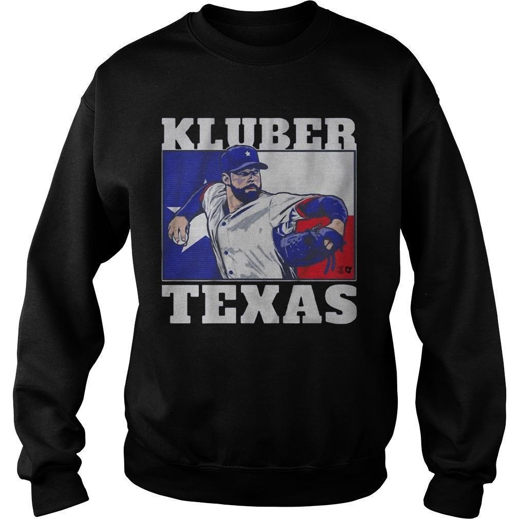 Corey Kluber Texas Sweater
