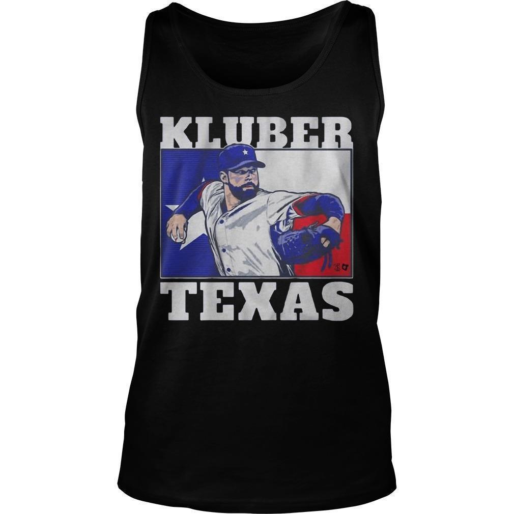 Corey Kluber Texas Tank Top
