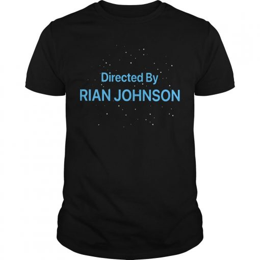 Directed By Rian Johnson Shirt
