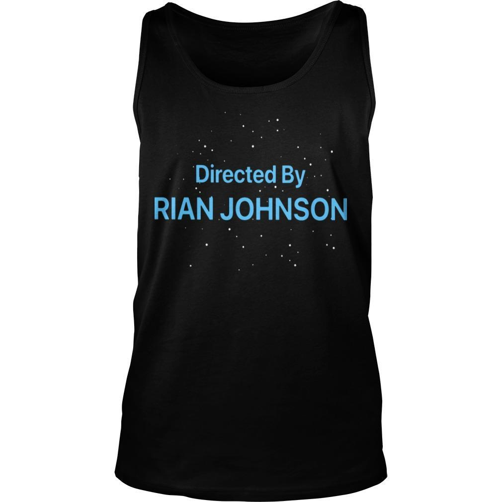 Directed By Rian Johnson Tank Top