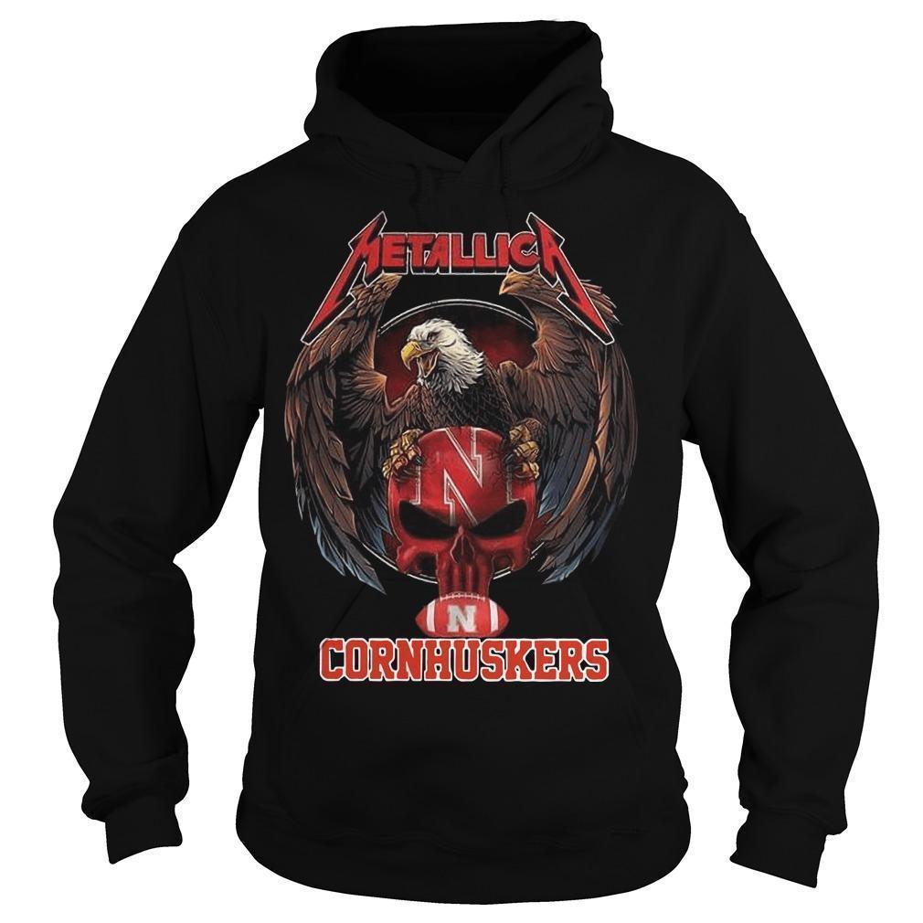 Eagle Metallica Cornhuskers Hoodie