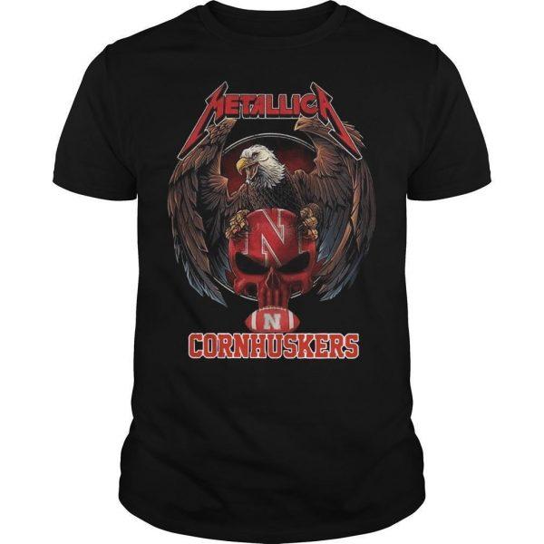 Eagle Metallica Cornhuskers Shirt
