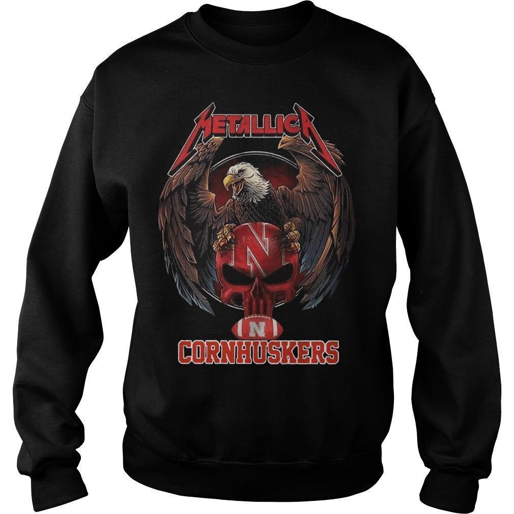 Eagle Metallica Cornhuskers Sweater
