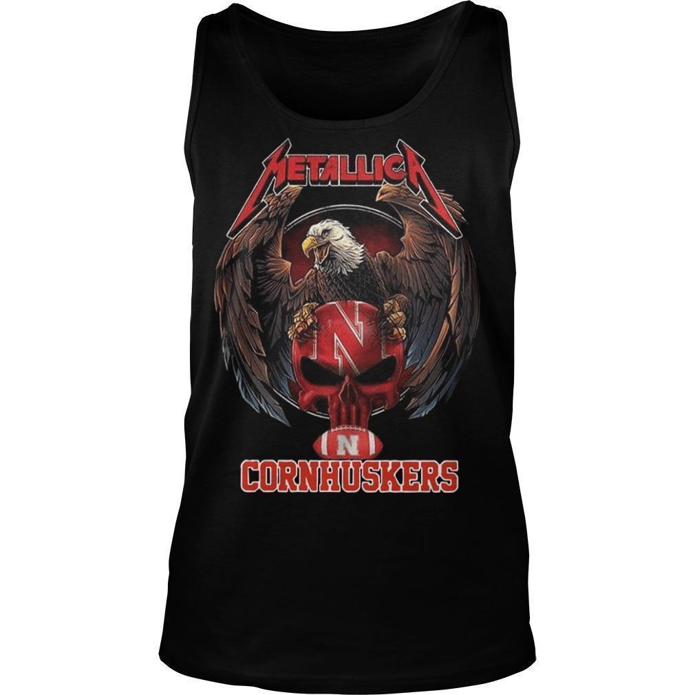 Eagle Metallica Cornhuskers Tank Top
