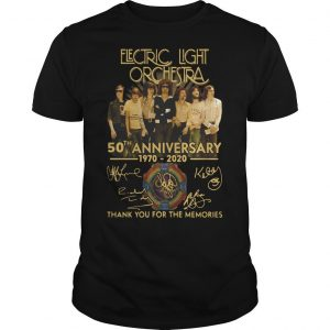 Electric Light Orchestra 50th Anniversary Shirt