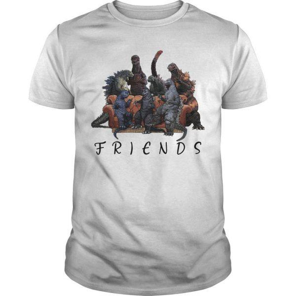Godzilla Tv Show Friends Shirt