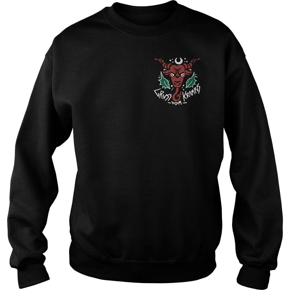 Gruss Vom Krampus Sweater