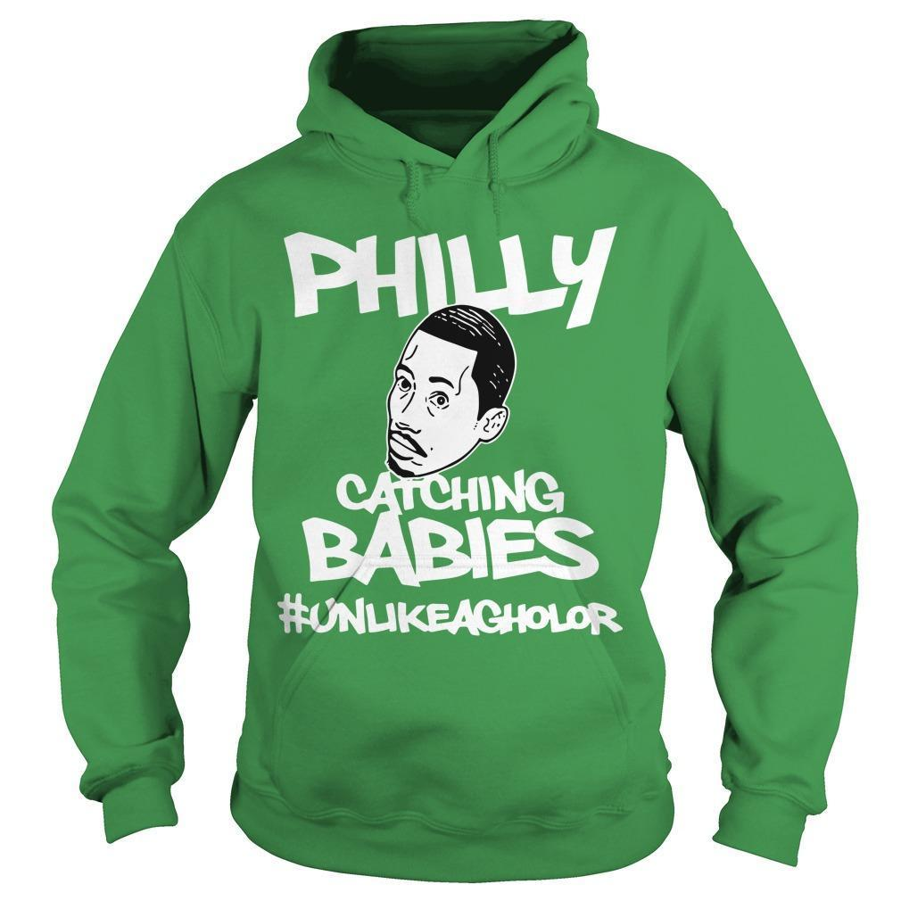 Hakim Laws Philly Catching Babies #unlikeagholor Hoodie