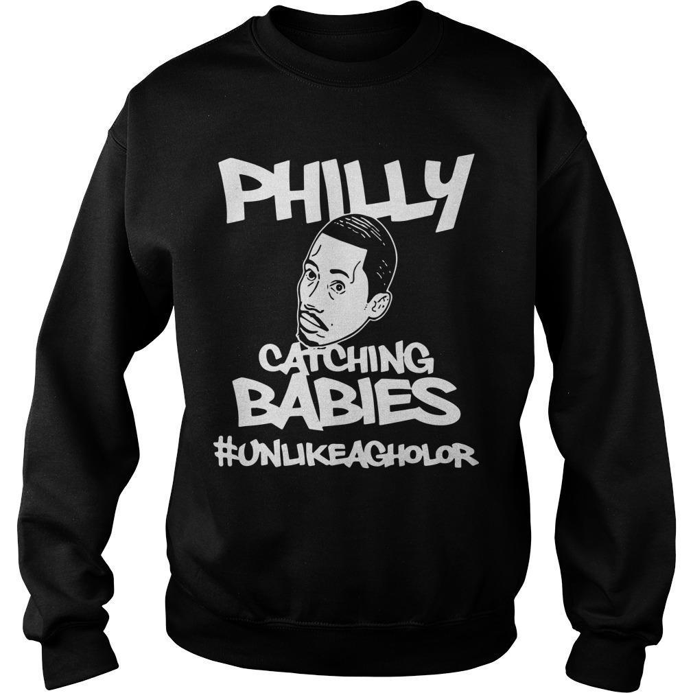 Hakim Laws Philly Catching Babies #unlikeagholor Sweater
