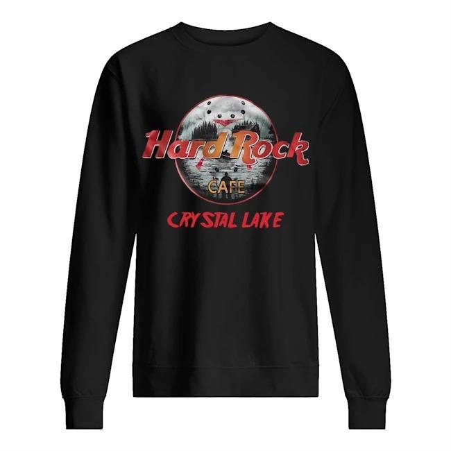 Hard Rock Cafe Crystal Lake Sweater