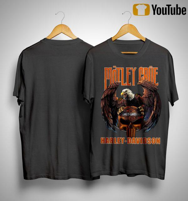 Harley Davidson Motley Crue T Shirt