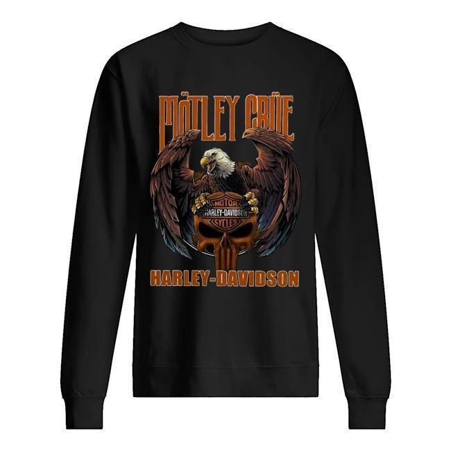 Harley Davidson Motley Crue T Sweater