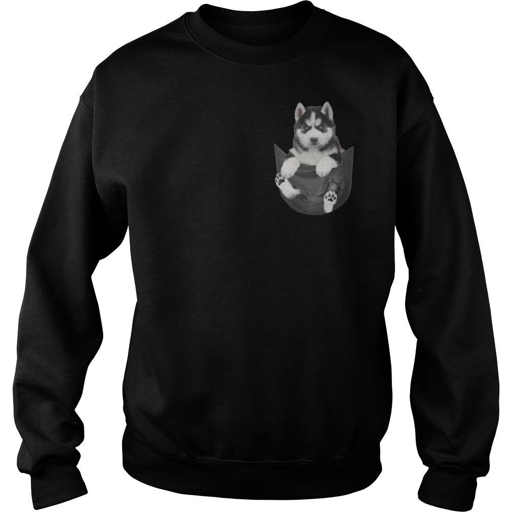 Husky In My Heart Sweater