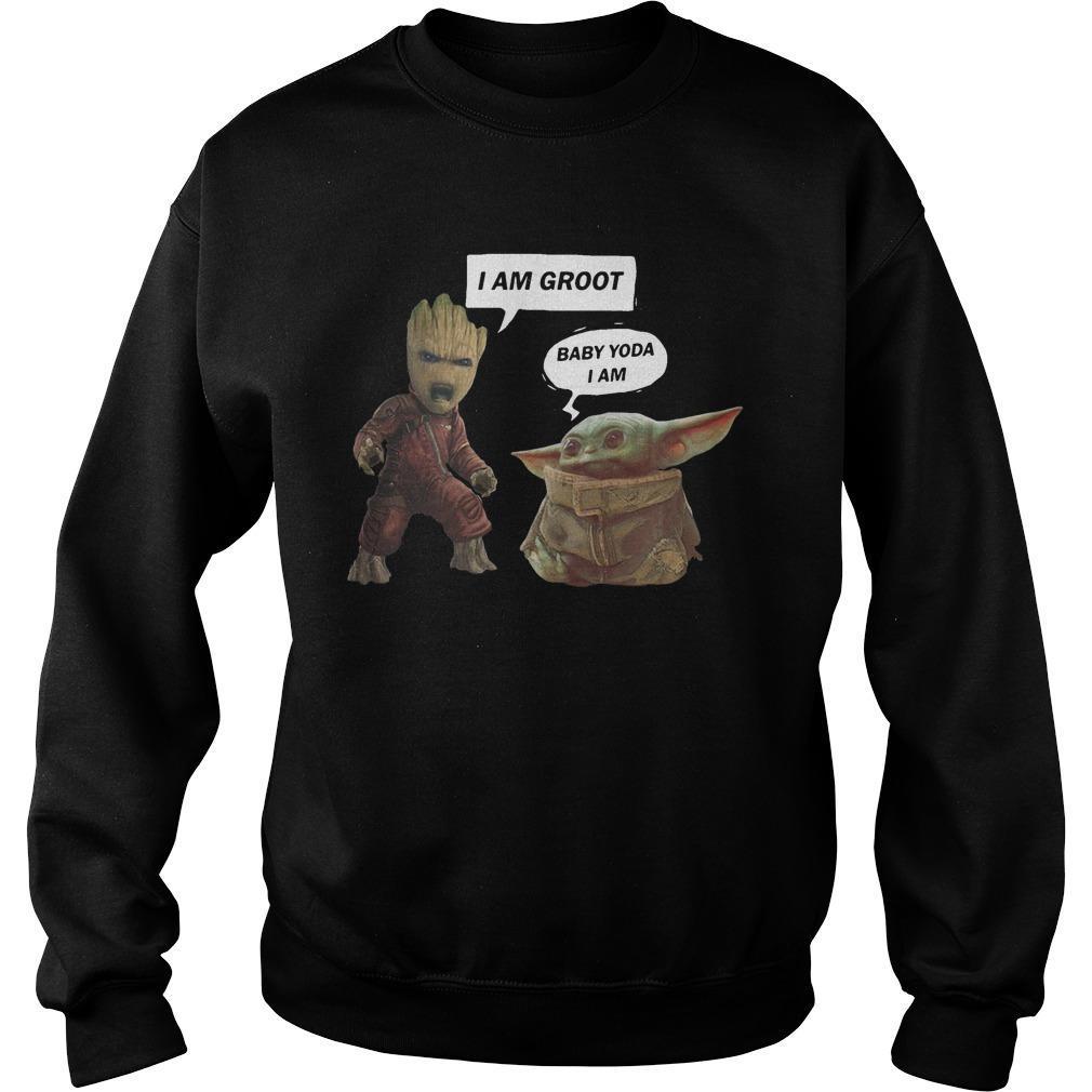 I Am Groot Baby Yoda I Am Sweater