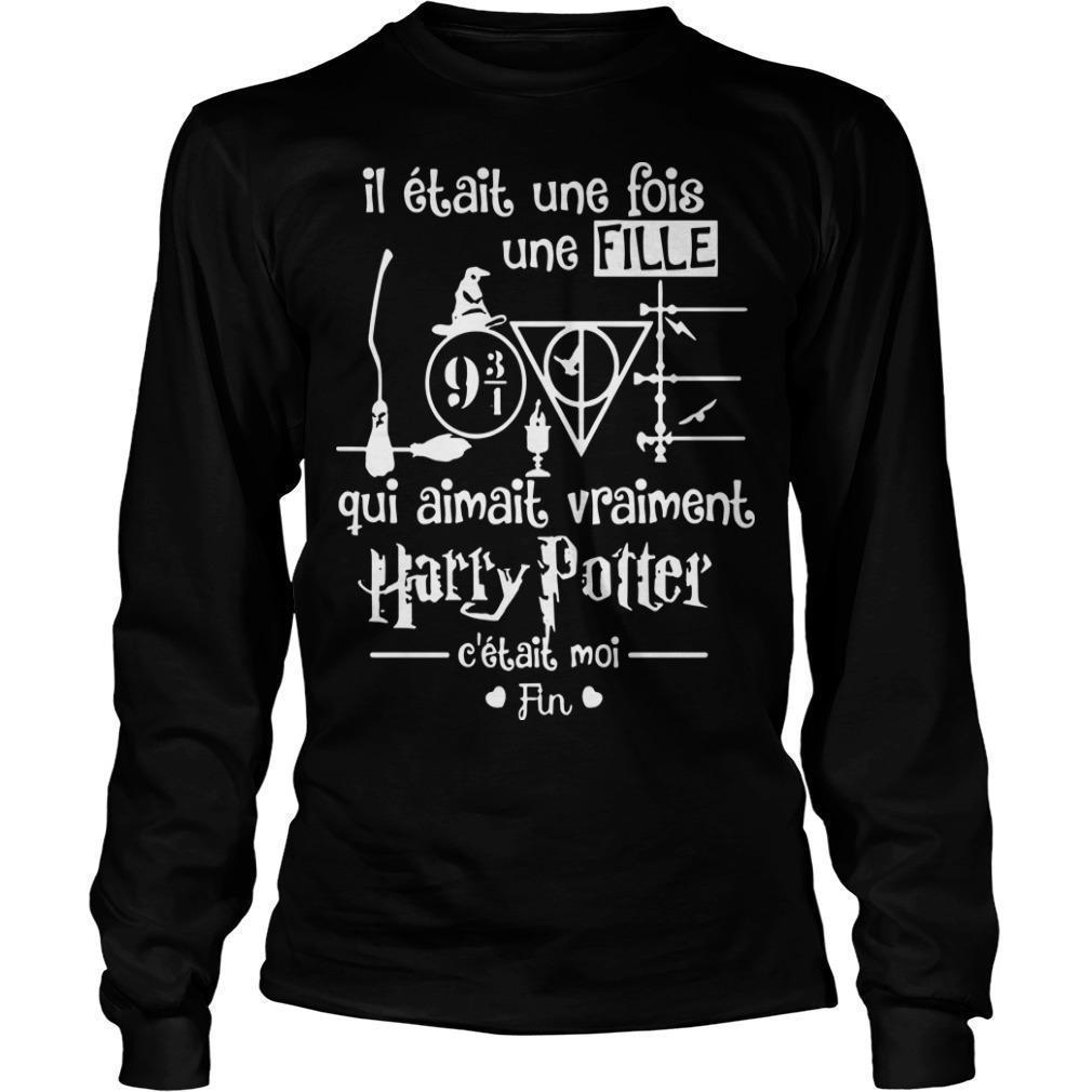 Il Était Une Fois Une Fille Qui Aimait Vraiment Harry Potter Longsleeve