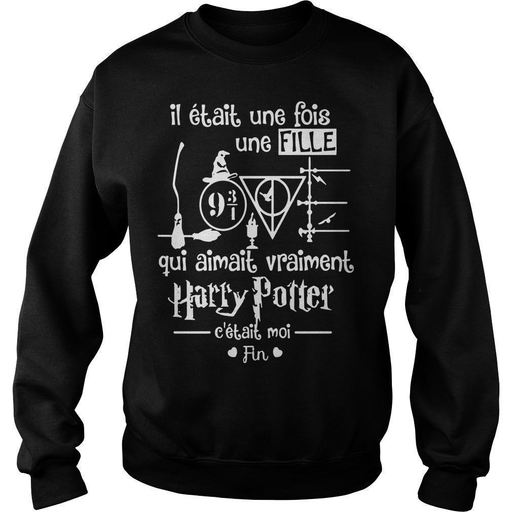 Il Était Une Fois Une Fille Qui Aimait Vraiment Harry Potter Sweater