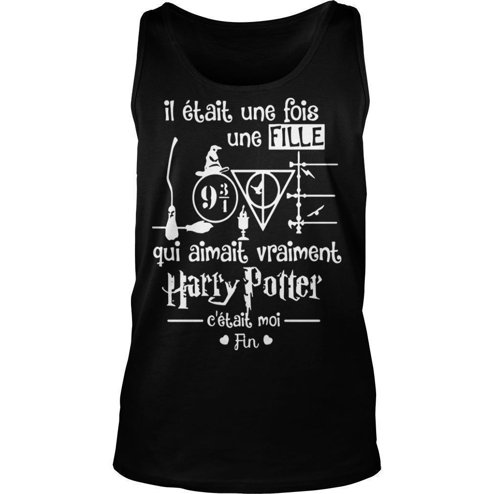 Il Était Une Fois Une Fille Qui Aimait Vraiment Harry Potter Tank Top