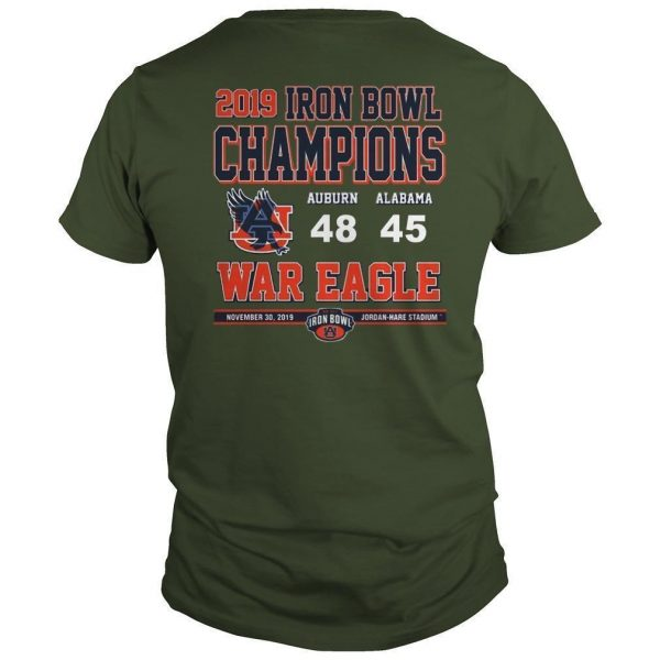 Iron Bowl Shirts 2019