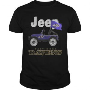 Jeep Baltimore Ravens Shirt