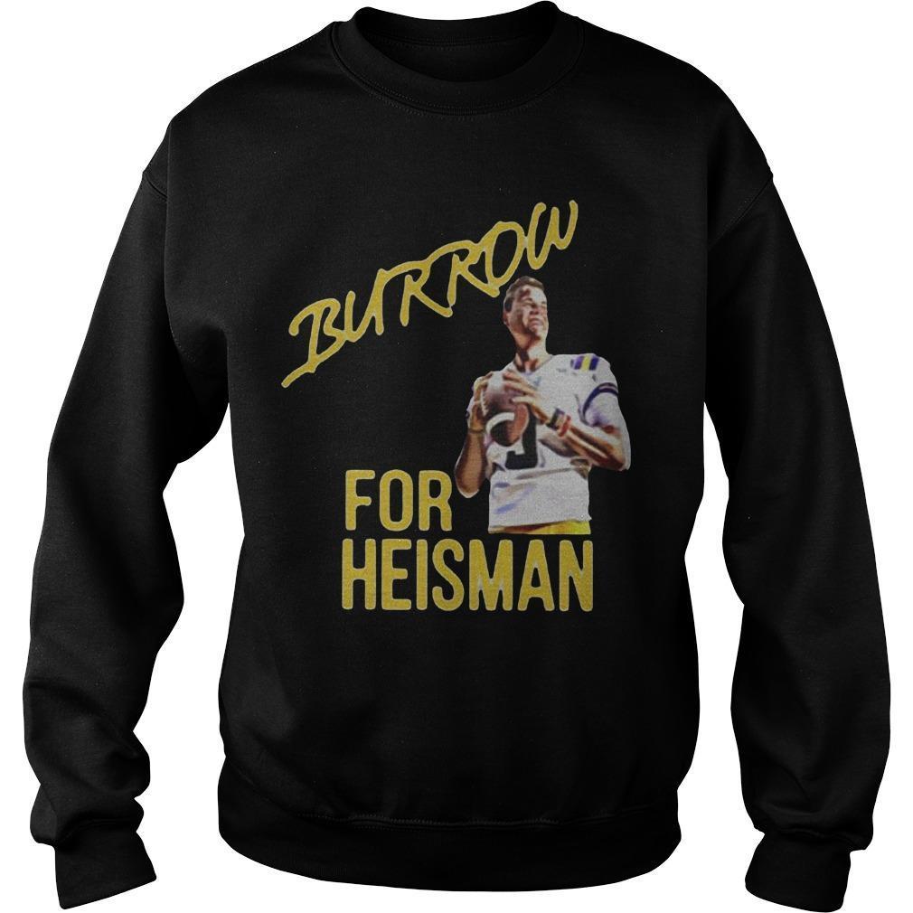 Joe Burrow Heisman Sweater