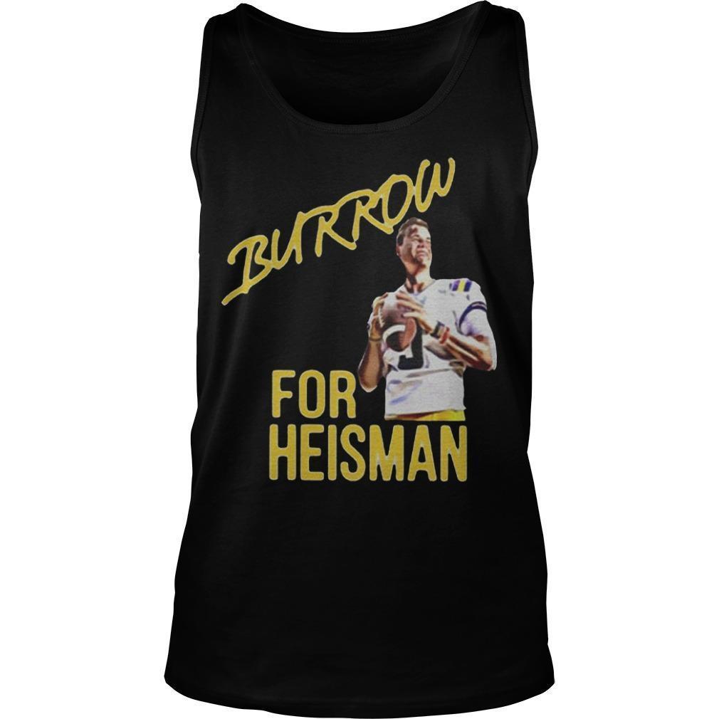 Joe Burrow Heisman Tank Top