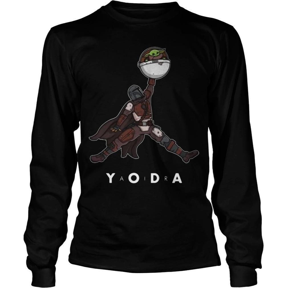 Jordan The Mandalorian Baby Yoda Longsleeve