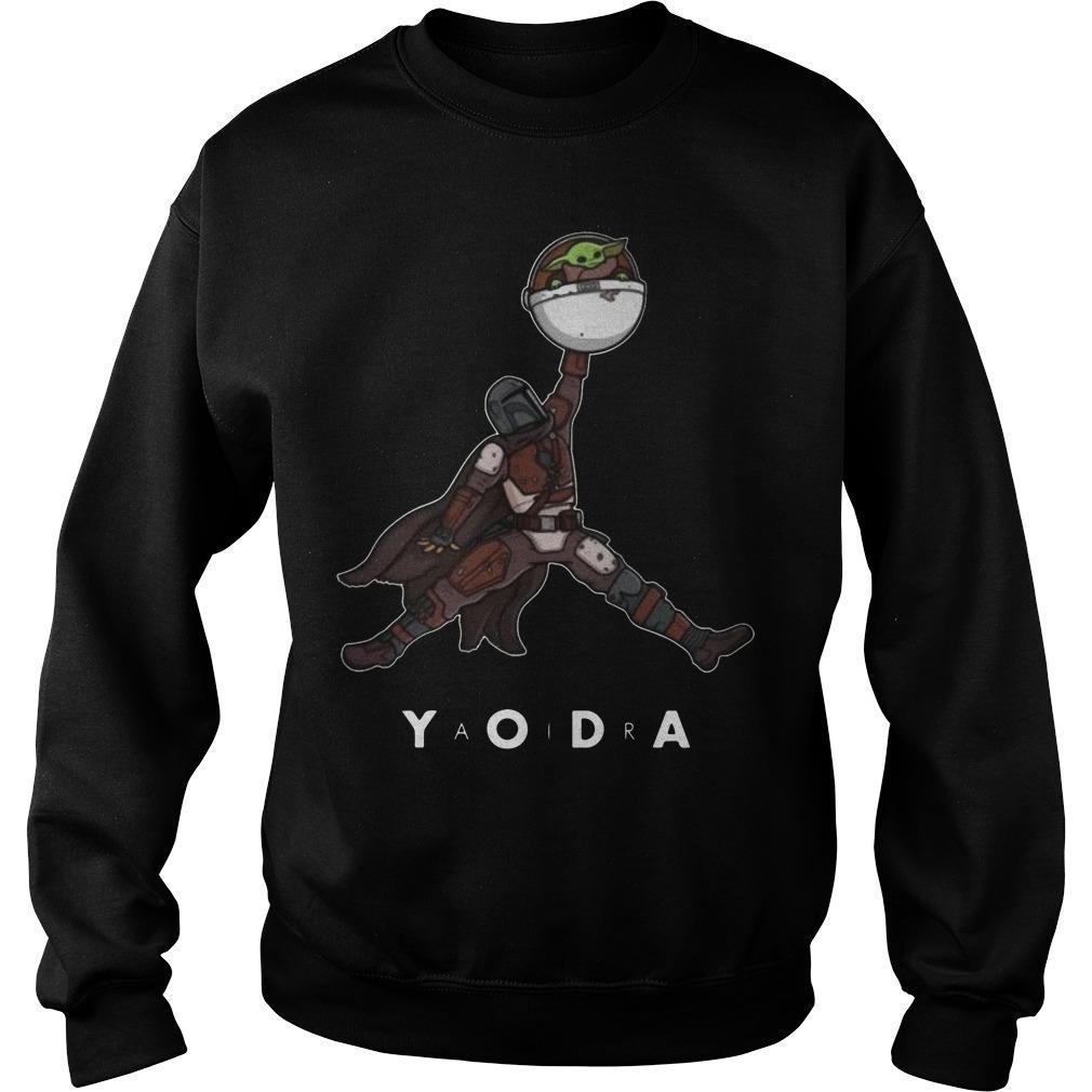 Jordan The Mandalorian Baby Yoda Sweater