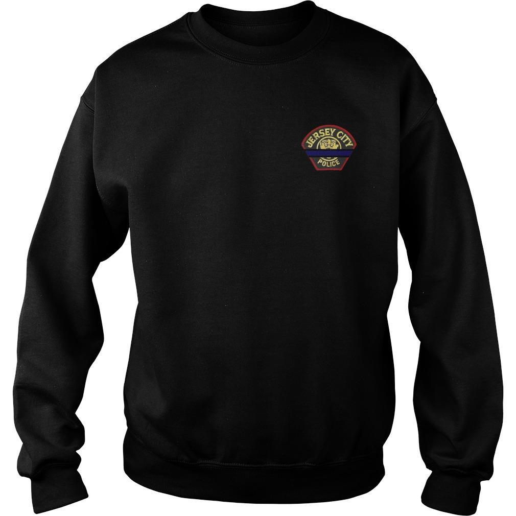 Joseph Seals Jersey City Police Sweater