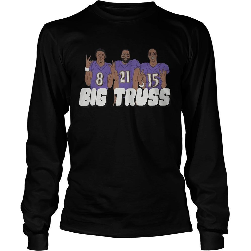 Lamar Jackson Mark Ingram Marquise Brown Big Truss Longsleeve