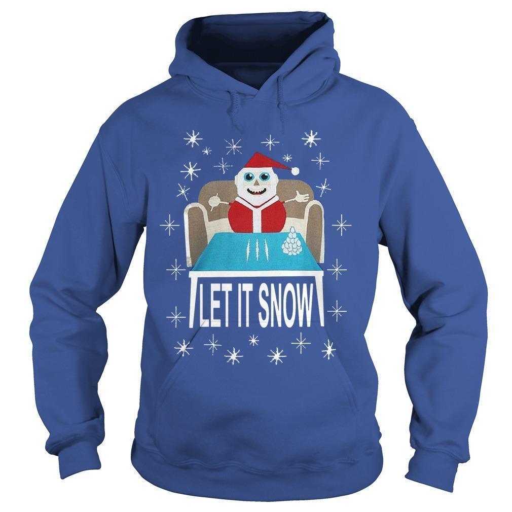 Let It Snow Santa Sweatshirt Hoodie