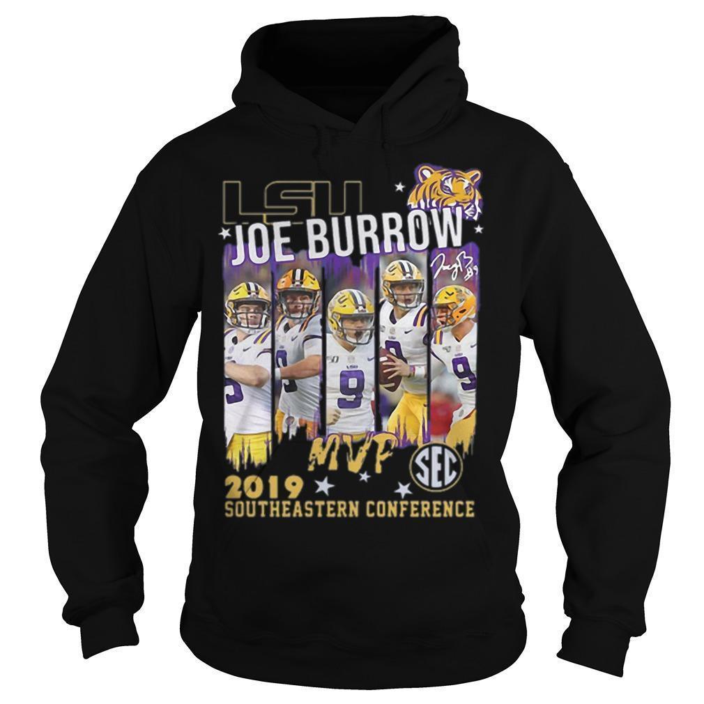 Lsu Joe Burrow Mvp 2019 Southeastern Conference Hoodie