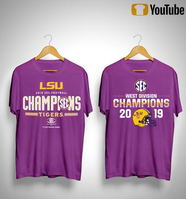 Lsu Sec Championship Shirt