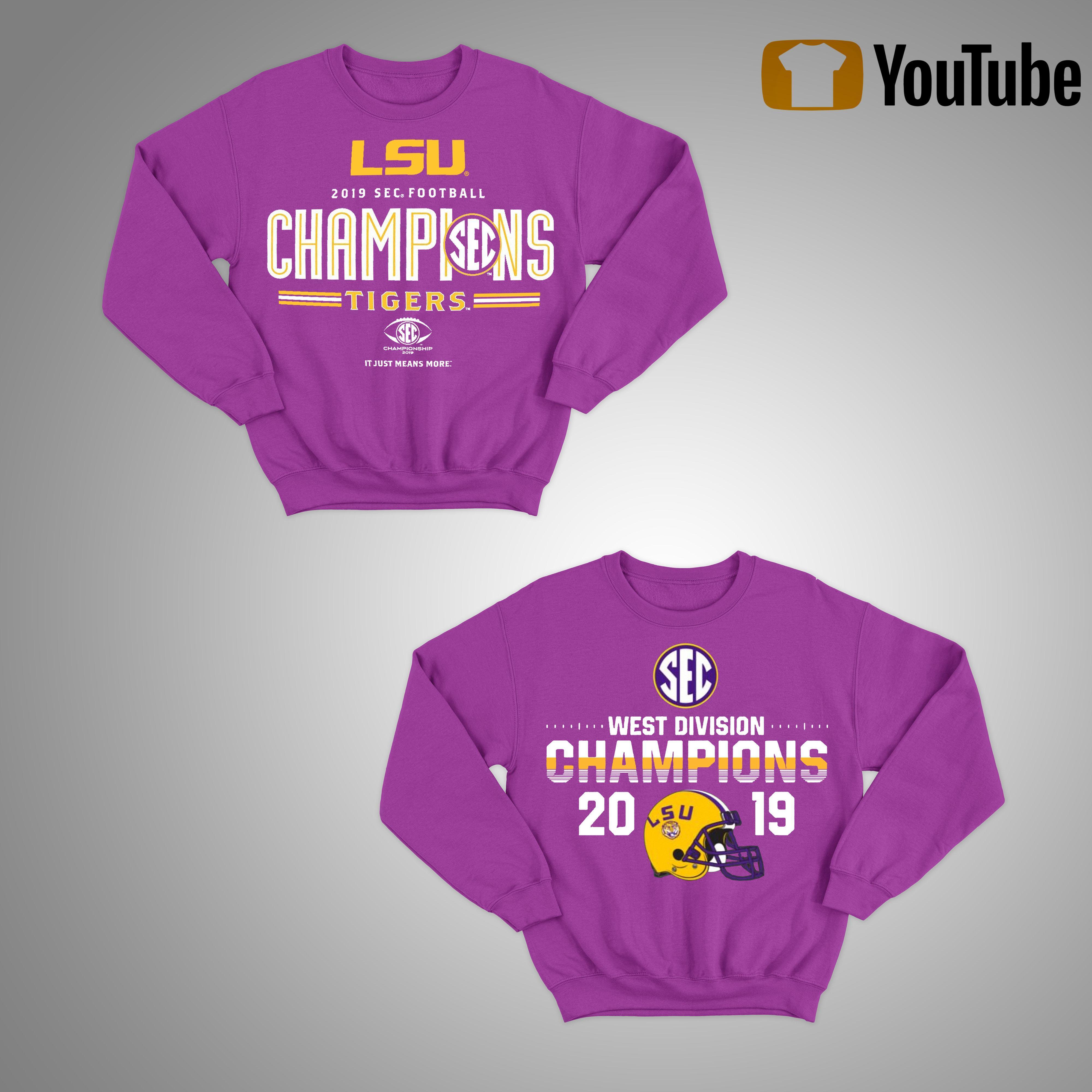 Lsu Sec Championship Sweater