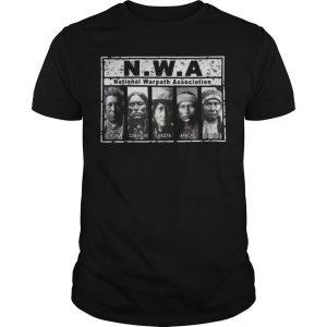 National Warpath Association Crow Comanche Lakota Apache Nez Perce Shirt