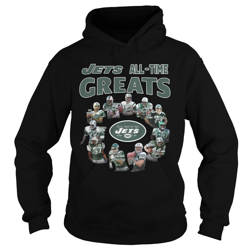 New York Jets All Time Great Hoodie